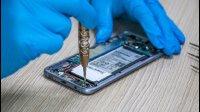 三星S8拆机更换电池教学教程GALAXY S8-草包网