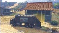 亚当熊GTA5线上土豪54熊哥当卡车司机运货, 赚钱养家