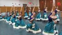 藏族舞蹈教学-男女藏族舞蹈热巴鼓+踢踏舞组合