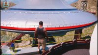 亚当熊GTA5 小富的新车库,探索UFO岛