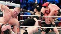 WWE 莱斯纳遭遇生涯巨大危机四重威胁赛 能否卫冕冠军?CENATV解说 Special moments第一期(wwe2k17)