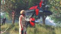 亚当熊GTA5:神奇,熊哥竟然把飞机开到树上