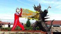 【闯关族M78】赛文奥特曼决战暴君泰兰特!龟派气功都用上了!奥特曼搞笑剧场
