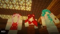 <七末x五歌x暮云>【末日生存#3——小镇废墟】我的世界&Minecraft