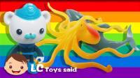 海底小纵队成功营救章鱼和海豚!