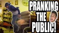 椅子爆炸致客户昏厥 整弟狂魔Ben的恶搞路人系列1 【Ben-Phillips官方视频】