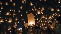 泰国清迈万人天灯节, 去享受最浪漫的情人节!