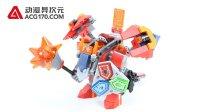 【动漫异次元】乐高LEGO 未来骑士团 70363 梅西超级战斗机甲
