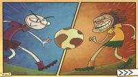 小飞象✘史上最贱小游戏✘EP.5搞笑疯狂足球赛! 贝克汉姆圆月弯刀绕地球一周!