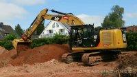 卡特彼勒320E挖掘机工作