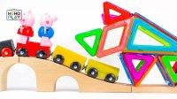 百变磁力片 多彩犀牛 亲子steam 早教益智启蒙 亲子游戏 儿童玩具 幼儿教育