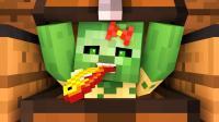 Minecraft-我的世界动画-村民对抗僵尸的故事【8】