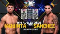 【UFC Fight Night 108】埃尔·昆塔 VS 迪亚戈·桑切斯