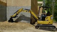 卡特4吨迷你挖掘机操作保养, 真的好想弄一台玩耍!