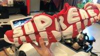 10-24帝师:Supreme x Nike Air More Uptempo
