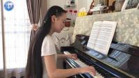 高雅气质女孩冯卓尔演奏《梦中的婚礼》- 2017 经典钢琴曲