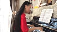高雅气质女孩冯卓尔演奏《在水一方》- 2017 经典钢琴曲