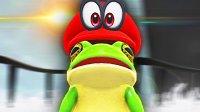 【屌德斯解说】 超级马里奥 奥德赛01 获得变身帽子!完美演绎模拟青蛙!