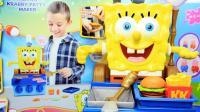 海绵宝宝玩具 会说话的海绵宝宝烹饪机