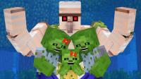 Minecraft-村民对抗僵尸的故事【9】!
