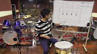 九月之声星星老师架子鼓教学_爵士鼓教学滚奏练习_跟着学架子鼓教程
