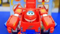 超级飞侠变形玩具 乐迪的变形机器人套装