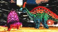 侏罗纪世界游戏 恐龙对战第108期 疯狂的异齿龙 恐龙战士的欲擒故纵战术陌上千雨