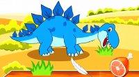 宝宝恐龙世界 探索侏罗纪公园 第13期 骄傲的剑龙 两场截然不同的比赛 陌上千雨