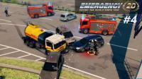 『干部来袭』急难先锋20 #4: 高速公路上演多车相撞 有个司机飞出20米远