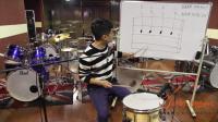 在线指导星星老师架子鼓教学_爵士鼓教学切分节奏综合练习_专业鼓手架子鼓教程