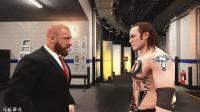 WWE2K18生涯模式第3期: 佰威连胜征服高层HHH邀请加入主赛花名册-WWE2017年11月13日