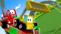 和迷你卡车学习 第11集 在嘉年华玩过山车