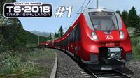 『干部来袭』火车模拟2018 #1: 一年一度坑爹的更新又来了 Mittenwaldbahn BR442