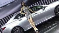 2017广州车展 雷克萨斯气质车模 高颜值演绎