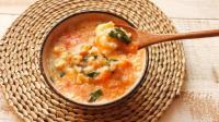 冬日暖胃疙瘩汤, 简单又好吃, 成本只要2元
