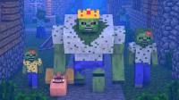 我的世界-Minecraft动画-村民对抗僵尸的故事【10】[完结]