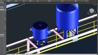 三维工厂 Plant 3d 2017 设备之螺旋板式换热器的创建