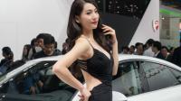 2017广州车展 另一道风景线是属于车模 个个都是高颜值