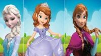 找公主学英语游戏英语迪斯尼冰雪女王小红帽灰姑娘儿童英语少儿英语ABC