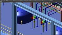 三维工厂 Plant 3d 2018 管道之设备配管(公用一)