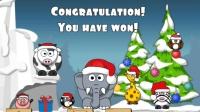 圣诞小游戏 唤醒小象圣诞版 小动物们叫醒小象