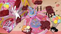 【爱茉莉兒】日本食玩游乐园巧克力飞船