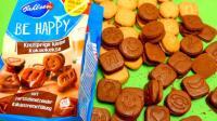 看看巧克力饼干掰开后里面都有哪些夹心吧