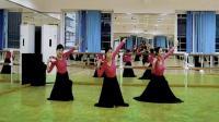 新疆铃鼓舞组合-应蝶儿舞蹈教学3人练习2