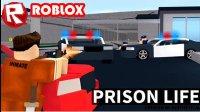 永哥roblox虚拟世界 警察乐高方块人警察局遭遇分身
