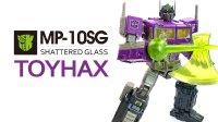KL變形金剛玩具分享257 Toyhax 鏡像柯博文貼紙升級示範!