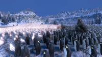 数万企鹅与鸡打群架, 没想到企鹅战斗力这么强