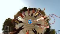 超嗨! ! 720全景视频就是这个样子的 广州万圣节实拍360°视频