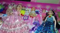 亲子过家家玩具16 芭比娃娃梦幻衣橱玩具女孩过家家娃娃生日礼物礼盒 芭比娃娃换装打扮