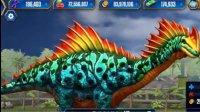 侏罗纪世界游戏第519期:超纣龙对战副栉析龙★恐龙公园筱白解说